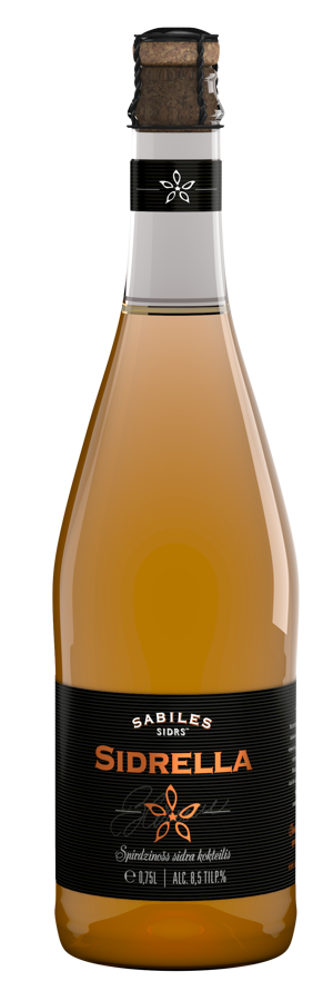 """Sidrella"" cider cocktail"